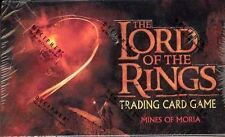 LOTR LORD OF THE RINGS TCG : MINES OF MORIA BOOSTER BOX SEALED NEW