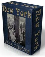 NEW YORK CITY 28 rare, historical, vintage books on CD! MANHATTAN, Big Apple