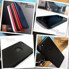 Original Apple iPhone 7 Case Genuine Tech TPU Flex Silicone Leather Bumper Black