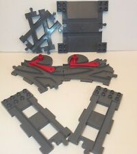 Lego Duplo Thomas Train Track Specialty Bumper End Car Crossover X Switch Lot 6