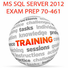 MS SQL SERVER 2012 EXAM 70-461 - Video Training Tutorial DVD