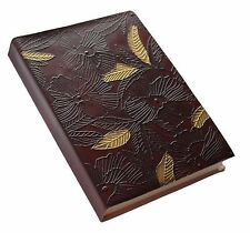 Blossom Embossed Genuine Leather Journal / Intagram Photo Album - 25% off