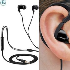 Mpow Sports Wired Earphone Headset Remote /Mic headphone For Galaxy S6 Note 4 5