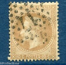 France Napoléon N°28A oblitération cachet étoile de paris N°17