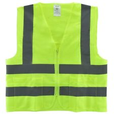 NEIKO 2 Pockets Neon Green Safety Vest with Reflective Strips ANSI/ISEA  XX-L