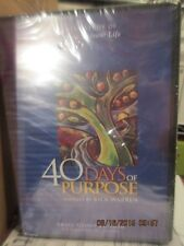 LOT of 30 !!! New 40 Days of Purpose Driven Small Group Sunday School  DVD Study