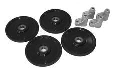 "Arctic Cat Snowmobile 5.35"" Front Bogie Idler Wheels Mounts 12-14 ZR XF"