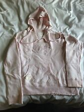 Offshore Pink Hoodie Hoody Ladies Sports Exercise Casual PE Girls Size 12 Womens