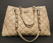 Womens KATE SPADE Gold Coast Maryanne Ivory Quilted Handbag Purse $478 Retail