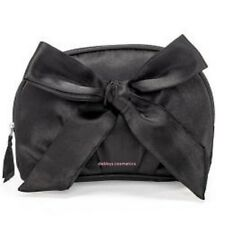 Avon Black Satin Cosmetic/Make up Bag