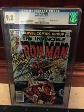 IRON MAN #151 CGC 9.8 NM/MT ANT-MAN APP LAYTON & AUSTIN COVER (ID 5426)