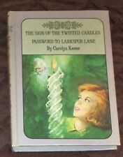 NANCY DREW #9 TWISTED CANDLE,#10 LARKSPUR LANE,DOUBLE 2 in 1,BUY THREE SHIP FREE