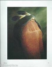 """Frank Howell,  """"Passage"""" , Southwest Art Print of a Native American"""