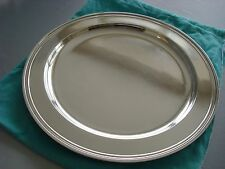 "TIFFANY sterling silver ~ LARGE 13"" TRAY PLATTER SALVER ~ MODERN MID CENTURY"