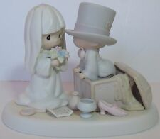 """Precious Moments """"Heaven Bless Your Togetherness"""" 106755 Wedding Flower Mark"""
