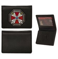 Resident Evil ID CARD WALLET 20th Anniversary Umbrella Corp Logo UBCS Cosplay