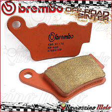 PLAQUETTES FREIN ARRIERE BREMBO FRITTE SD OFF-ROAD KTM SXS 125-540 2001