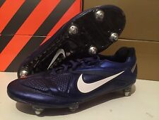 Nike Tiempo CTR360 Legend V FG BLUE STRIKE Soccer Cleats Sz 7,5 8,5 42 elite CTR