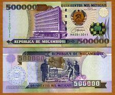 Mozambique, 500000 (500,000) meticais, 2003, P-142, UNC   Highest Denom. Ever
