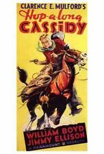 HOP-ALONG CASSIDY Movie POSTER 27x40 William Boyd James Ellison Paula Stone