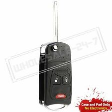 Replacement For 2005 2006 2007 Dodge Magnum Key Flip Shell