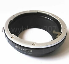 Mamiya 645 M645 Lens to Canon EOS EF Camera adapter 7D 5D 450D 350D 550D 1100D