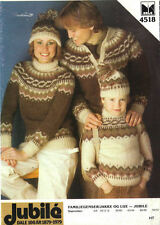 """FAIR ISLE""  PATTERNS LOT OF 3 LEAFLETS YOUR CHOICE-GREAT BUY"