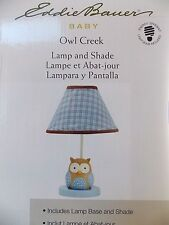 EDDIE BAUER~OWL CREEK~LAMP BASE & SHADE~NEW