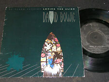 DAVID BOWIE Loving The Alien Re-Mixed Version / UK SP 1984 EMI AMERICA EA195