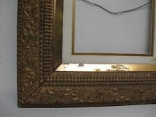 "Antique Victorian 3 tier Gilt Gold Gesso Picture Frame, fits 12"" x 10"""