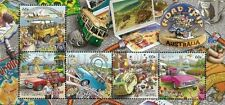 Australia Road Trip II 2013 Car Bus Vehicle Transport Holiday (ms) MNH