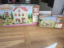 Sylvanian Families Cedar Terrace & Forest Nursery Gift Sets Brand New Bundle