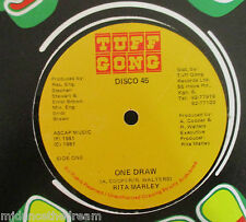 "RITA MARLEY ~ One Draw ~ 12"" Single JAMAICAN PRESSING"