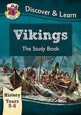 KS2 Discover & Learn: History - Vikings Study Book, Year 5 & 6 by CGP Books...