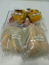 GARFIELD SLIPPERS S SIZE Original DAKIN Never used and unopened,