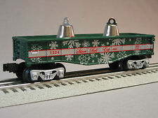 LIONEL SILVER BELL GONDOLA & BELLS train christmas o gauge 6-30205 6-26459 NEW