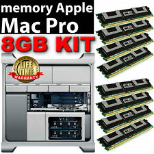 8GB 8 x 1 DDR2 667 MHz PC2-5300 ECC FBDIMM Mac Pro 2006 2007 RAM KIT A1186