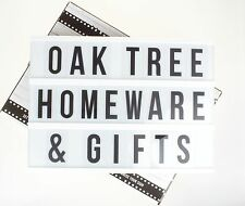 Light Up Message Box Cinematic Light Box LED Letters Board Parties Weddings Gift