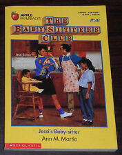 Book. Ann M. Martin. The Baby-Sitters Club #36. Jessi's Baby-Sitter