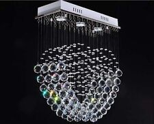 New Chrome Luxury Crystal Pendant Light Ceiling Lamp Lighting Fixture Chandelier