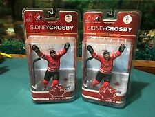 McFarlane NHL Sidney Crosby Team Canada Lot Of 2