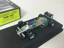 1/43 Tameo F1 Williams FW08C 1983 Donington Private Test Senna #TMK297