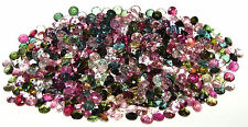 4mm Brazil Assorted Color Tourmaline Round Cut SPECIAL