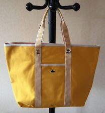 DESTOCKAGE NEUF DE STOCK @ SAC ETE LACOSTE MODELE SHOPPING BAG COULEUR JAUNE NEW