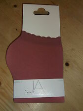 JA by Jonathan Aston 1 Pair Sheer Anklets Liner Socks ONE SIZE Rose BNWT