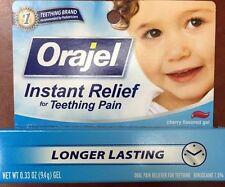 Orajel Teething Pain Relief, Cherry Flavor Gel .33 oz