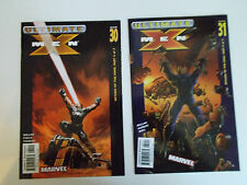 X-Men 30, 31, 32, 33 (4 book lot) Marvel, Ultimate X-Men, Millar, Finch, Kubert