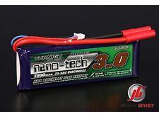Turnigy Nano-tech 3000mAh 2S 7.4V 25-50C Batería Lipo