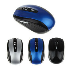 Mini Portátil 1600DPI 6 Teclas Wireless Optical Mouse 2,4 G Ratones Para