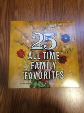 EUC! 25 ALL TIME FAMILY FAVORITES CLASSICAL LP ALL-DISC PRODUCTION Vinyl RECORD